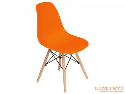 Стул  Eames Wood CC Оранжевый Tetchair. Цвет: оранжевый