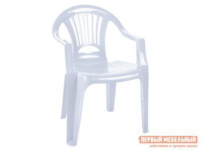 Пластиковый стул  Луч Белый, пластик *Бел Мебельторг. Цвет: белый
