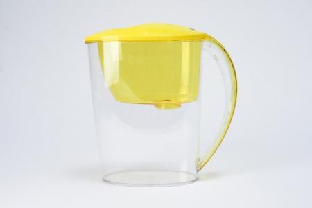 Фильтр-кувшин для очистки воды 2,5 л Фит Hoff. Цвет: бодрящий лимон