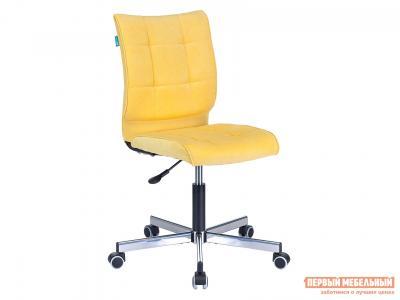 Офисное кресло  CH-330M Желтый, велюр Бюрократ. Цвет: желтый
