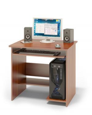 Компьютерный стол  КСТ-01.1 Испанский орех Сокол. Цвет: красное дерево