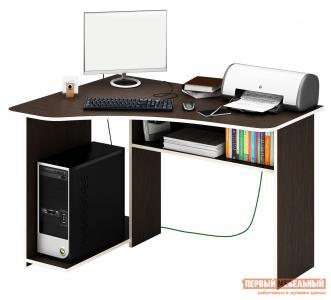 Компьютерный стол  Триан-1 Венге, Левый МФ Мастер. Цвет: венге