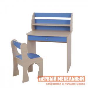 Столик и стульчик  Морячок Дуб млечный / Голубой Мебельсон. Цвет: синий
