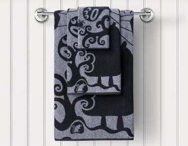 Полотенца Guten Morgen. Цвет: серый