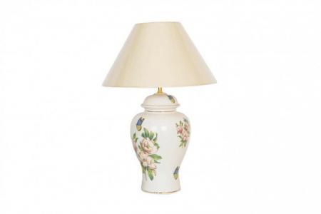 Лампа настольная Бабочки Hoff. Цвет: бежевый