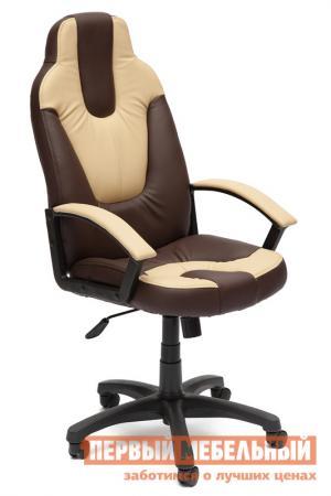 Игровое кресло  NEO (2) Иск. кожа коричневый / бежевый Tetchair. Цвет: коричневый