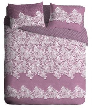 Комплекты постельного белья Павлина. Цвет: розовый