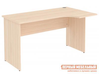 Письменный стол  Мерлен 774 Молочный дуб Уют сервис. Цвет: светлое дерево