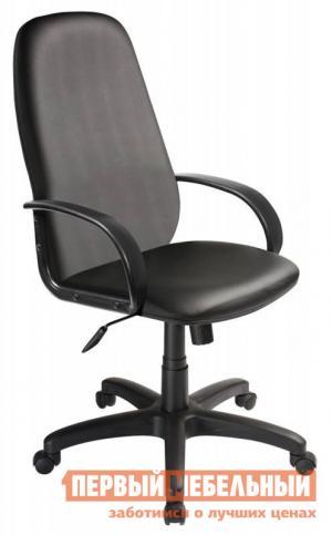 Офисное кресло  CH-808AXSN Иск. кожа Oregon-16 черная Бюрократ. Цвет: черный