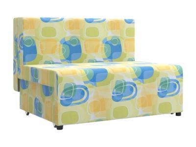 Прямой диван  Умка Принт, микровельвет Столлайн. Цвет: мультицвет