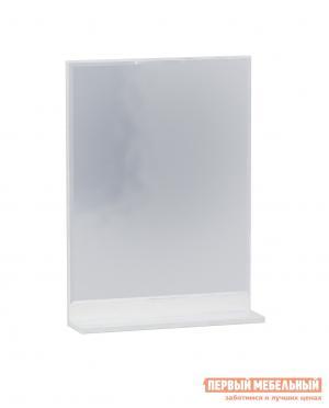 Настенное зеркало  Юнона Зеркало/02 Дуб Белый CRAFT / Серый шифер Моби. Цвет: серый