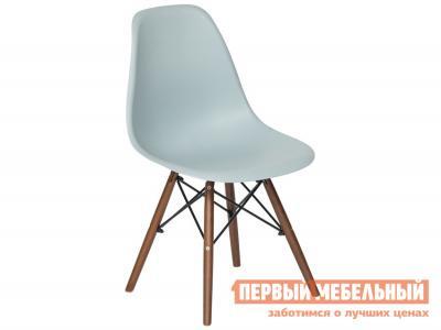 Стул  Eames Wood CC Серый пластик Tetchair. Цвет: серый