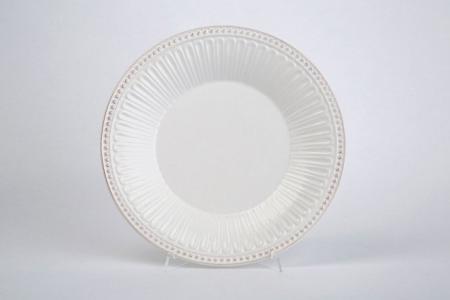 Тарелка столовая Античность Hoff. Цвет: белый