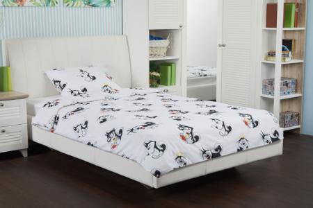 Комплект постельного белья Smillo Satin Bark Hoff