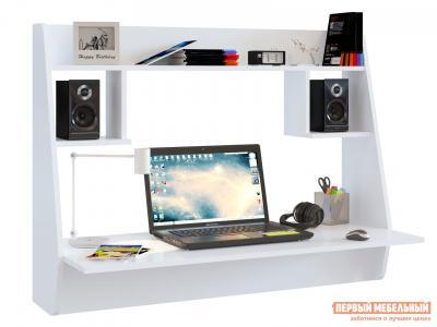 Компьютерный стол  СТМ-3 письменный Белый Тайга. Цвет: белый