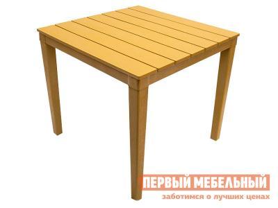 Пластиковый стол  Прованс квадратный Бежевый прованс, пластик Элластик Пласт. Цвет: бежевый