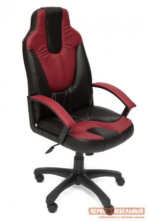 Игровое кресло  NEO (2) Иск. кожа черная / бордо Tetchair. Цвет: черный