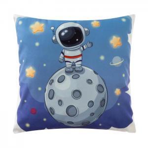 Декоративные подушки Крошка Я. Цвет: голубой, серый