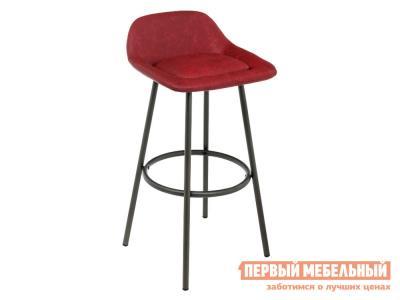 Барный стул  11664 Bosito Красный, экокожа / Черный Лайфмебель. Цвет: черный