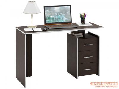 Письменный стол  Слим Венге, 1200 мм МФ Мастер. Цвет: венге