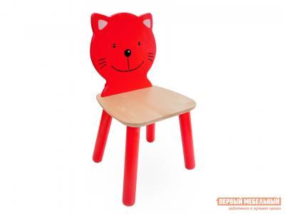 Столик и стульчик  Стул детский Котенок Ольха Боровичи. Цвет: светлое дерево