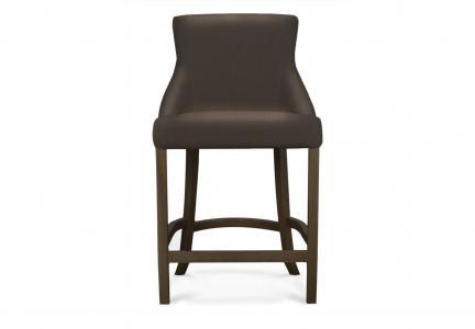 Барный стул dela (myfurnish) коричневый 56x100x59 см. Myfurnish. Цвет: коричневый