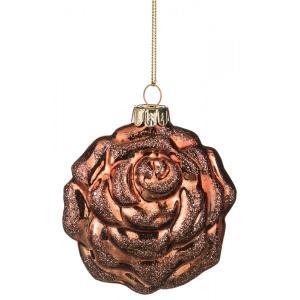 Шар новогодний Ronnie (4х8х9 см) Arti-M. Цвет: коричневый