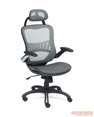 Кресло руководителя  Mesh-1 Серая ткань Tetchair. Цвет: серый