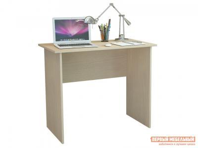 Компьютерный стол  Милан-85 Дуб молочный МФ Мастер. Цвет: светлое дерево