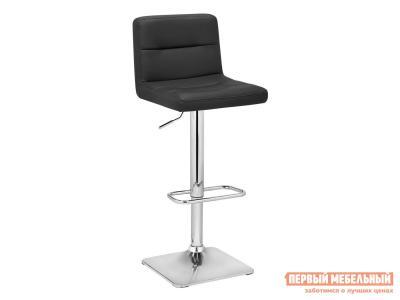 Барный стул  RIGA Черный, экокожа / Хром, металл Sedia. Цвет: черный