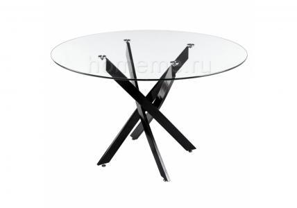 Стол стеклянный Komo Black 1505 HomeMe