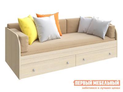 Детская кровать  ODNOYAR Дуб Молочный РВ Мебель. Цвет: светлое дерево