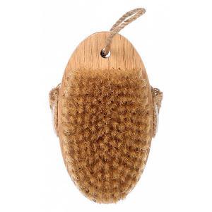 Щетка деревянная (13x7.5x4.5 см) 41334 Банные штучки. Цвет: бежевый