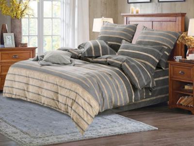 Комплекты постельного белья СайлиД. Цвет: бежевый