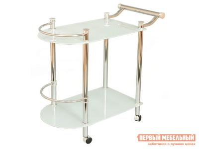 Сервировочный столик  SC-5038-CG Хром Red and Black. Цвет: серый