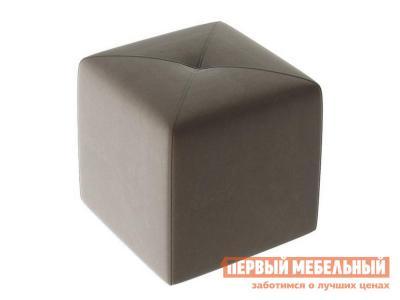 Пуфик  Пуф Тип 6 Велюр Коричневый ТриЯ. Цвет: коричневый