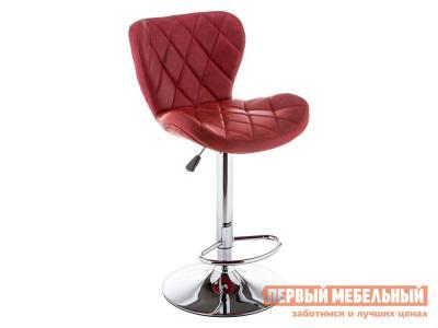 Барный стул  11299 Porch Красный, экокожа / Хром Лайфмебель. Цвет: красный