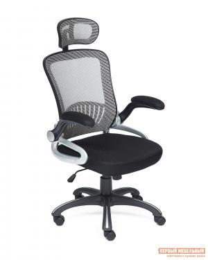 Кресло руководителя  Mesh-2 Черный / Серый Tetchair. Цвет: серый