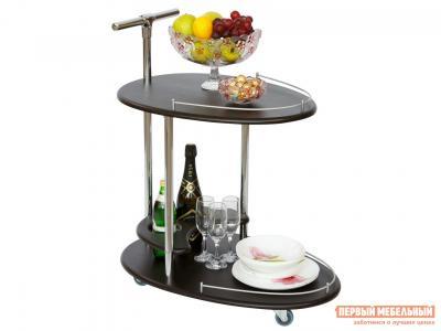 Сервировочный столик  Стол Фуршет Венге Калифорния мебель. Цвет: венге