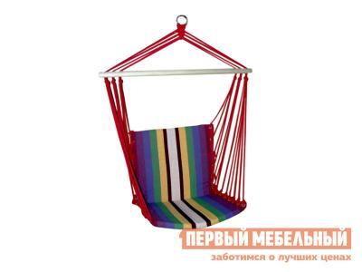 Гамак  HM-080 Гамак-кресло цветной (хлопок) Яркие полоски Бел Мебельторг. Цвет: мультицвет