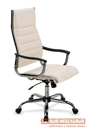 Кресло руководителя  CH-994 Иск. кожа слоновая кость Бюрократ. Цвет: бежевый