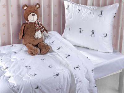Покрывала, подушки, одеяла Primavelle. Цвет: белый